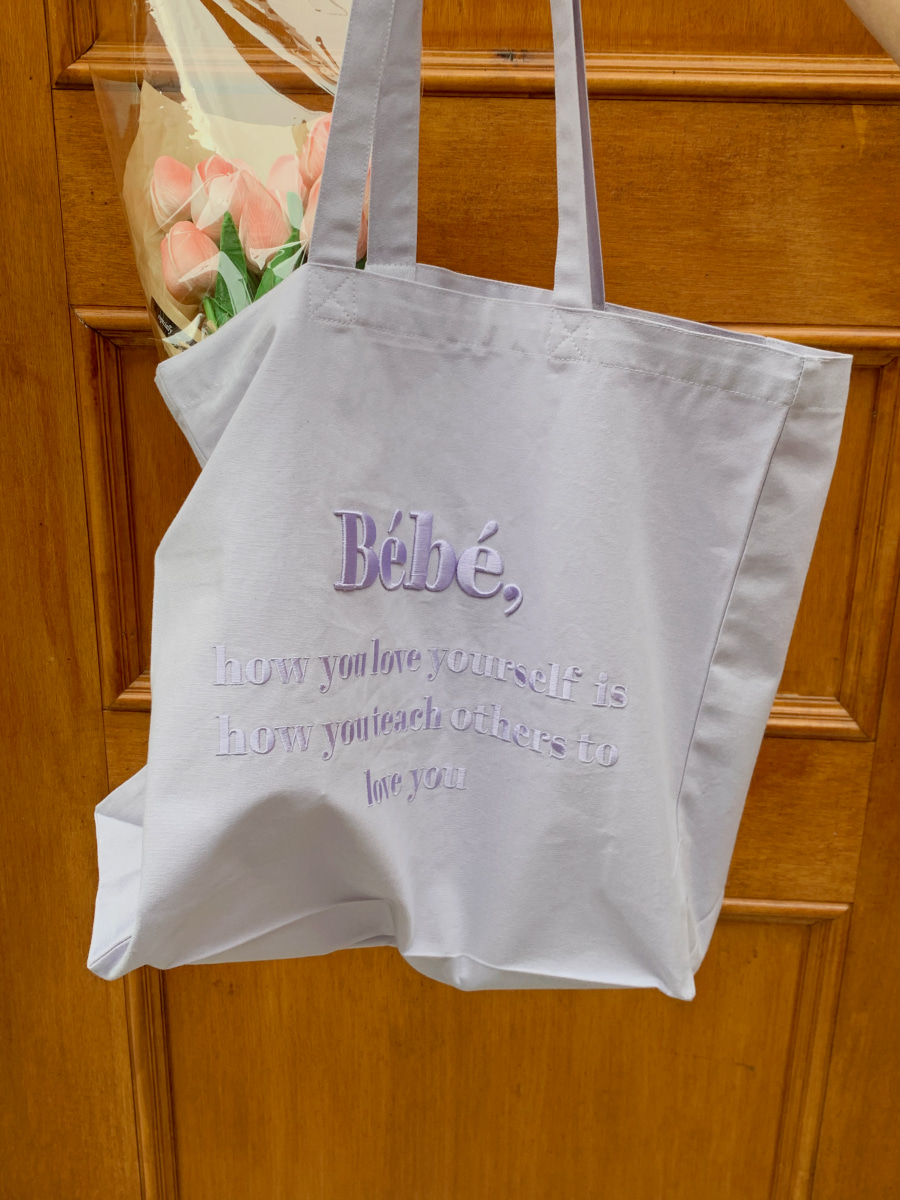 Bébé ecobag [purple]