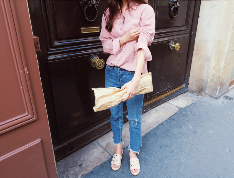 Classy shirt / Dusty pink