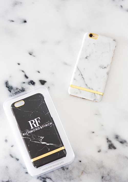[Richmond & Finch] White Marble iPhone Case