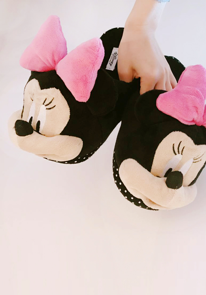 [Disney] Minnie room slippers