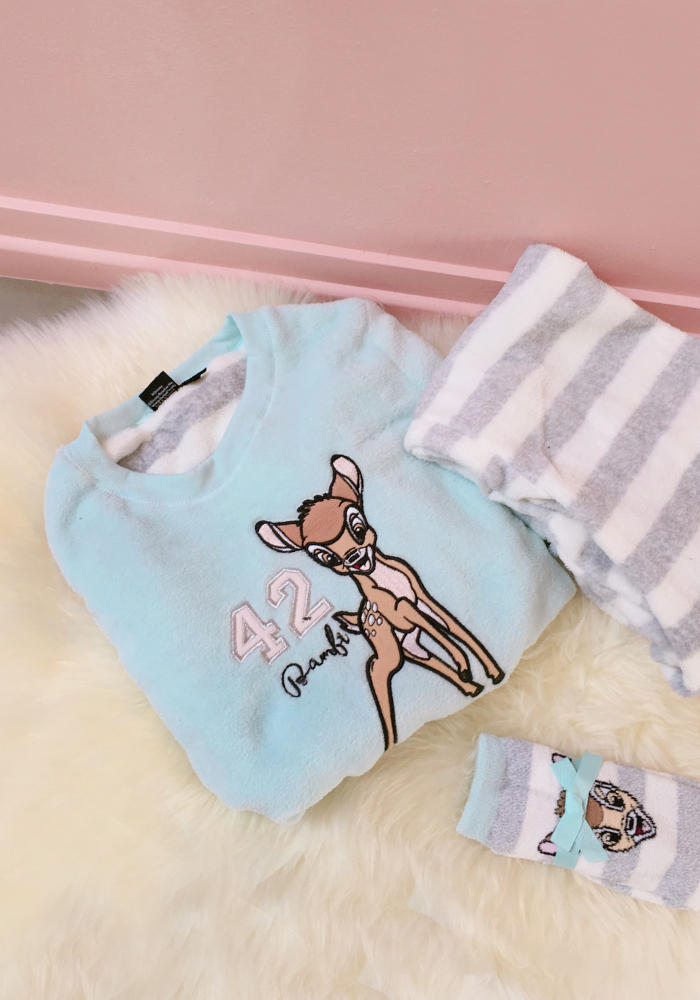 [Disney] Bambi 3 piece pyjamas set