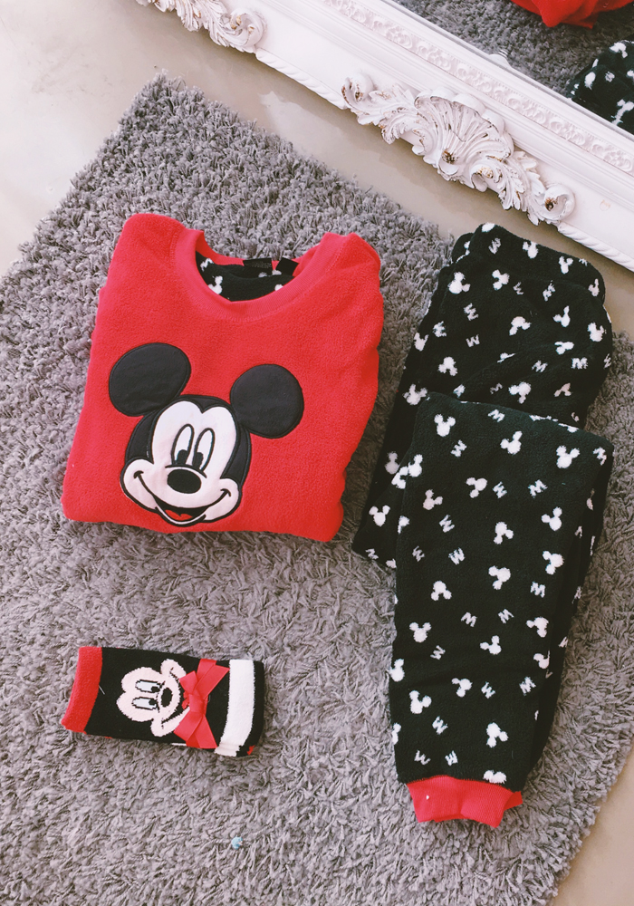 [Disney] Mickey 3 piece pyjamas set