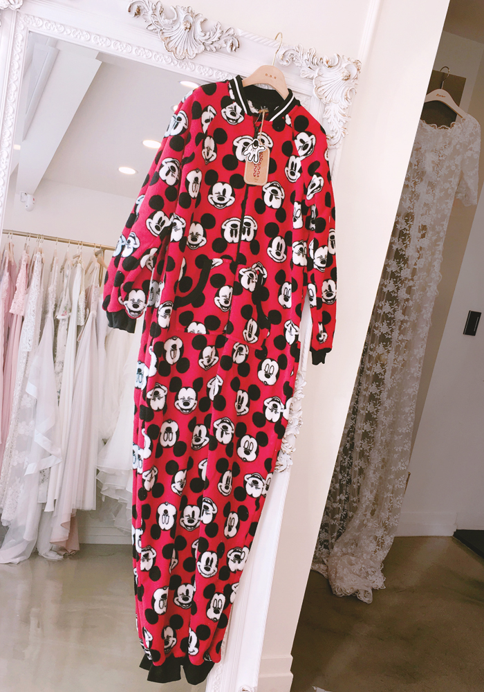 [Disney] Mickey pyjamas suit