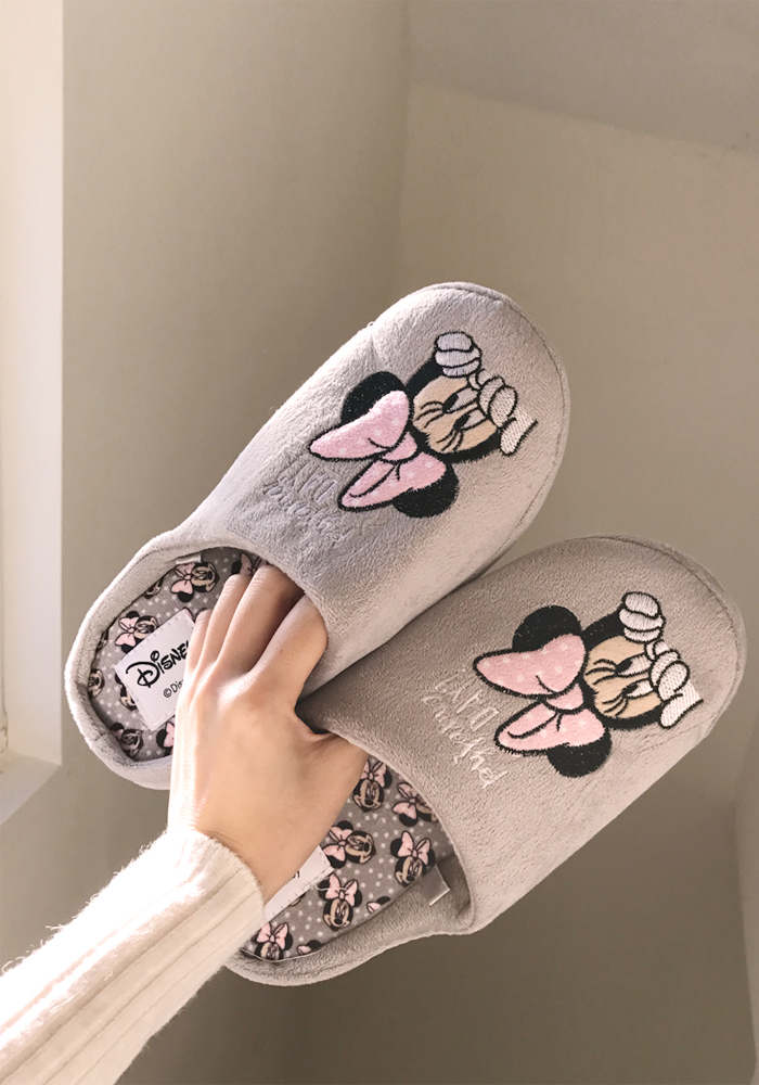 [Disney] Minnie soft room slippers