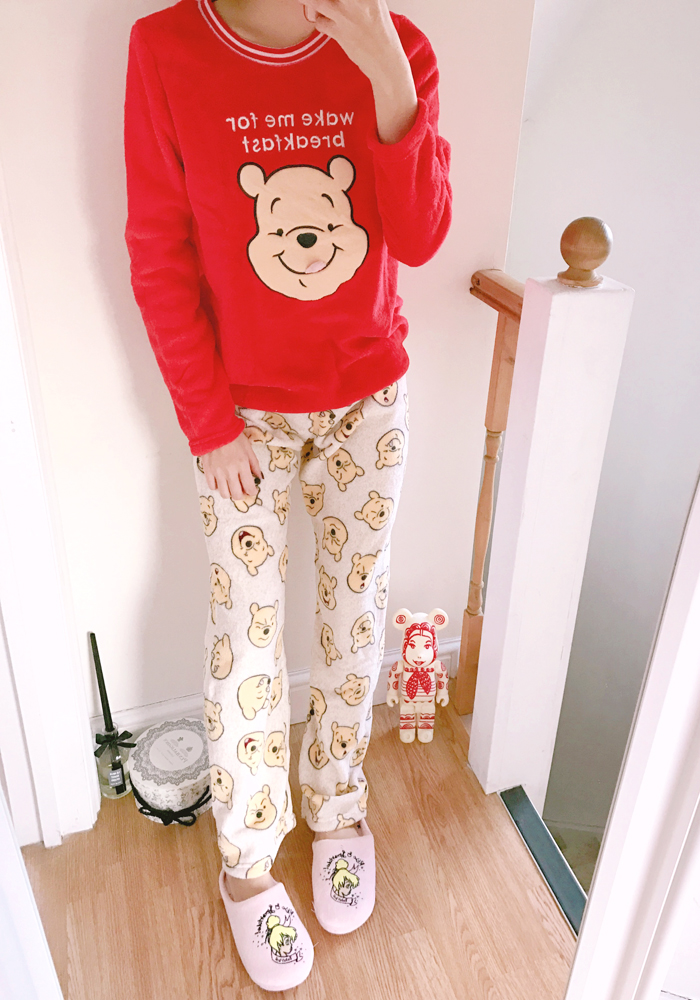[Disney] Pooh yummy pyjamas set