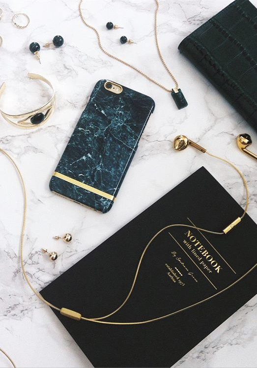 [Richmond & Finch] Green Marble iPhone Case
