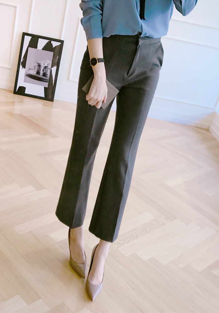 Office line slacks / charcoal