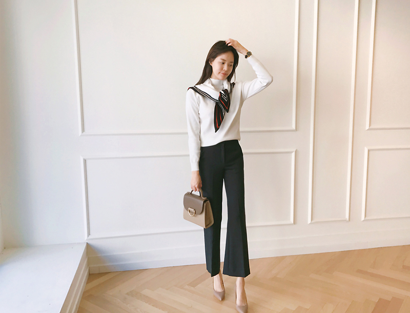 Office line slacks / navy