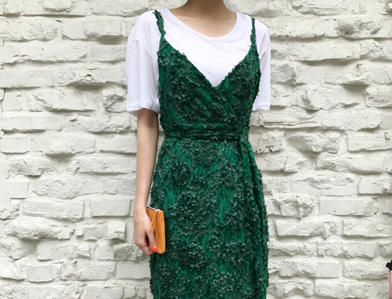 Jane dress / green