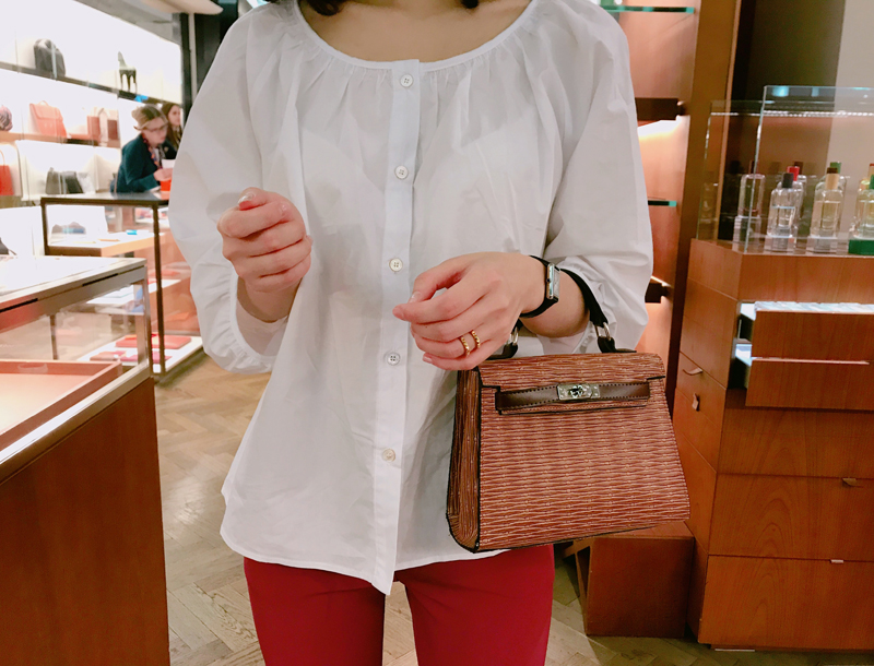 Twinkle blouse / ivory