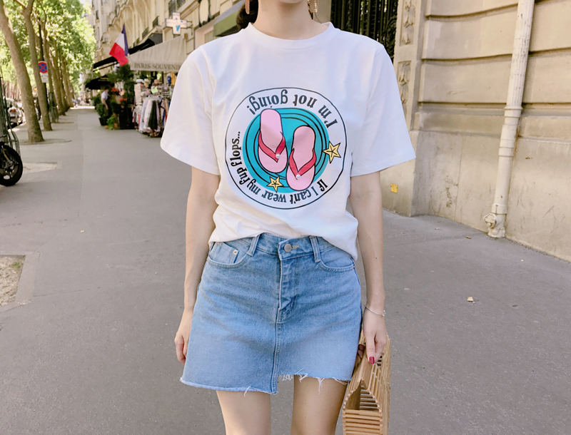 Pearl shoes tee / white