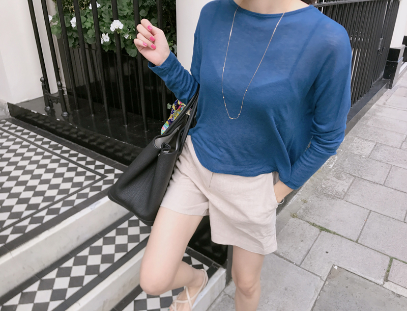 Honey loose tee / 3color