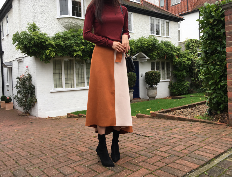 Autumn long skirt